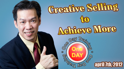 Special Training: Creative Selling to Achieve More