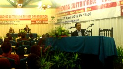 Building Sustainable Business Organization oleh Bapak Tanri Abeng, MBA