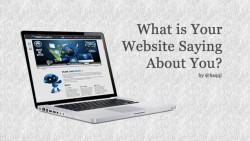Apa yang Website Anda Katakan Tentang Anda?