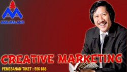 Creative Marketing oleh Bapak Jahja B Soenarjo