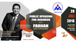 PUBLIC SPEAKING FOR BUSINESS With FARHAN