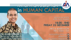 ANTICIPATION DISRUPTION IN HUMAN CAPITAL