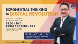 EXPONENTIAL THINKING in DIGITAL REVOLUTION