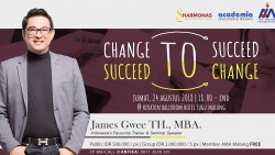 CHANGE TO SUCCEED, SUCCEED TO CHANGE