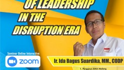 TWELVE ROLES OF LEADERSHIP IN THE DISRUPTION ERA